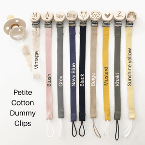 Our Little Helpers - Cotton Dummy Clips | Petite Strap