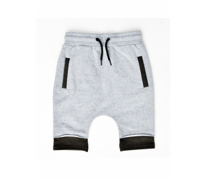 TPTB - 2IC SHORTS - GREY/KHAKI