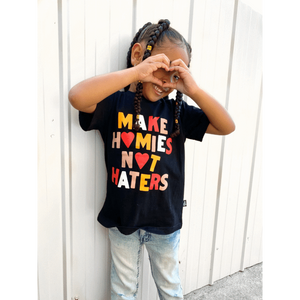 The Little Homie - Hater Tee | Black