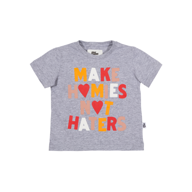 The Little Homie - Hater Tee | Grey