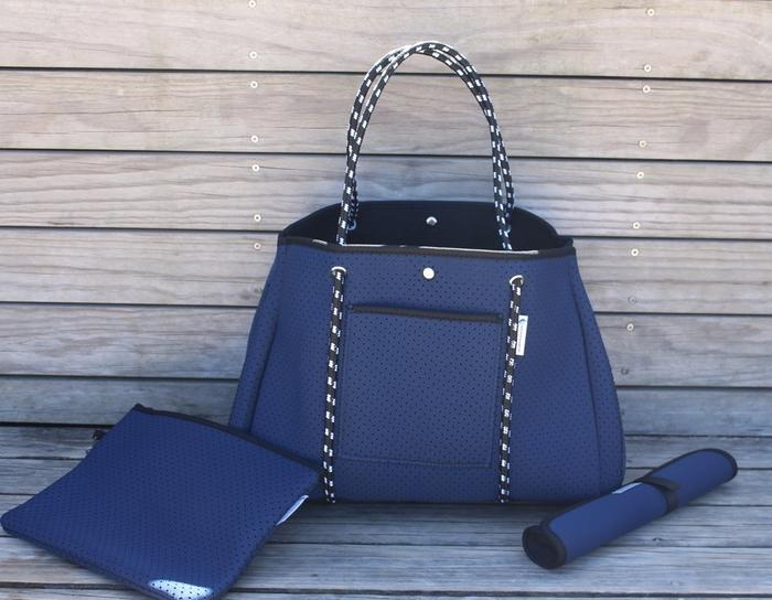 Anchor & Arrow - Ultimate Mums Bag - Denim Blue