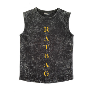 MLW By Design - Ratbag Stonewash Tank