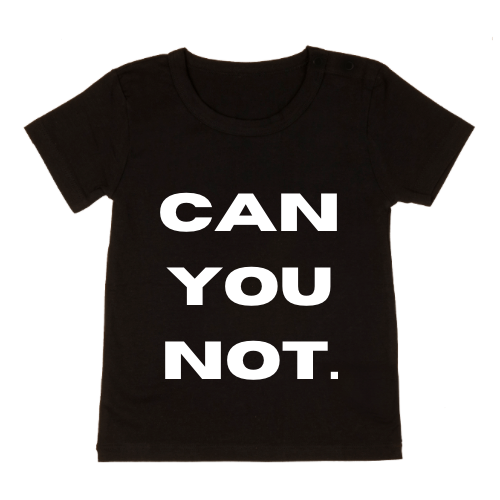 MLW By Design - Can You Not Tee | Black or White