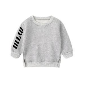 MLW By Design - MLW Sleeve Crew | Grey