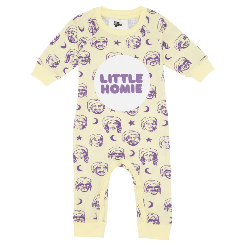 The Little Homie - Dreams 'Baby' Romper