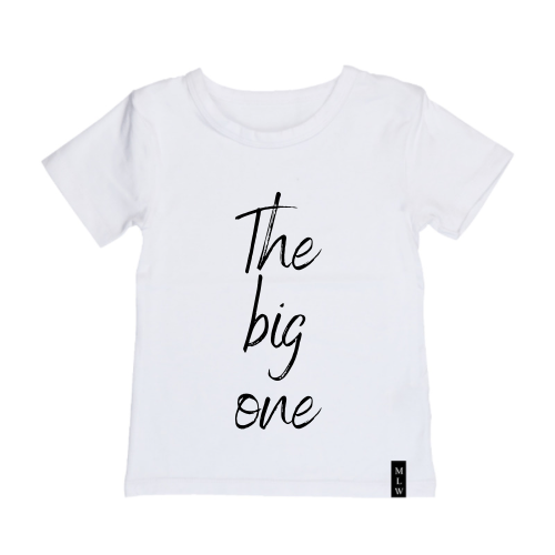 MLW By Design - The Big One Tee | Black or White