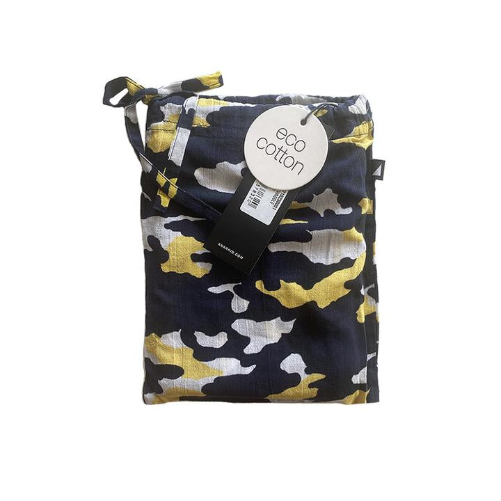 Anarkid - MUSLIN SWADDLE BLUE CAMO
