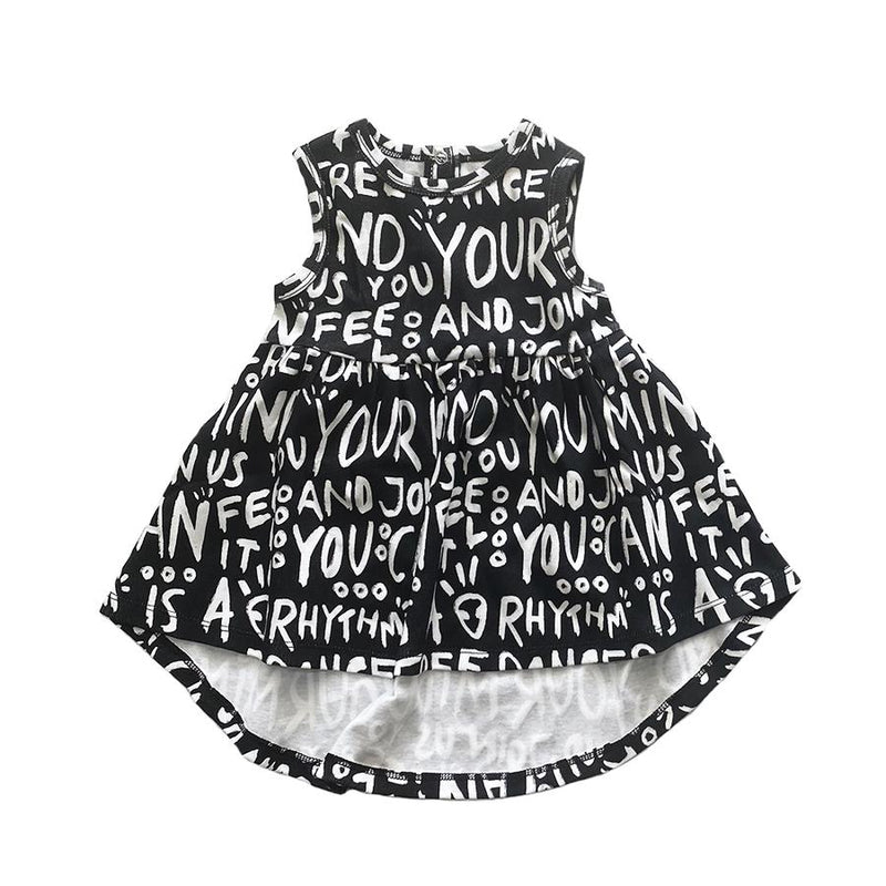 Anarkid -  DANCER AOP SLEEVELESS DRESS