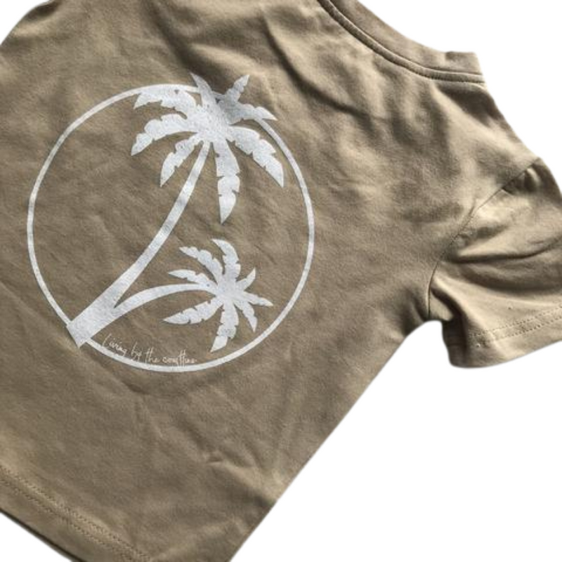 Living By The Coastline - GROM T-SHIRT | ORIGINAL PALMS DESIGNS