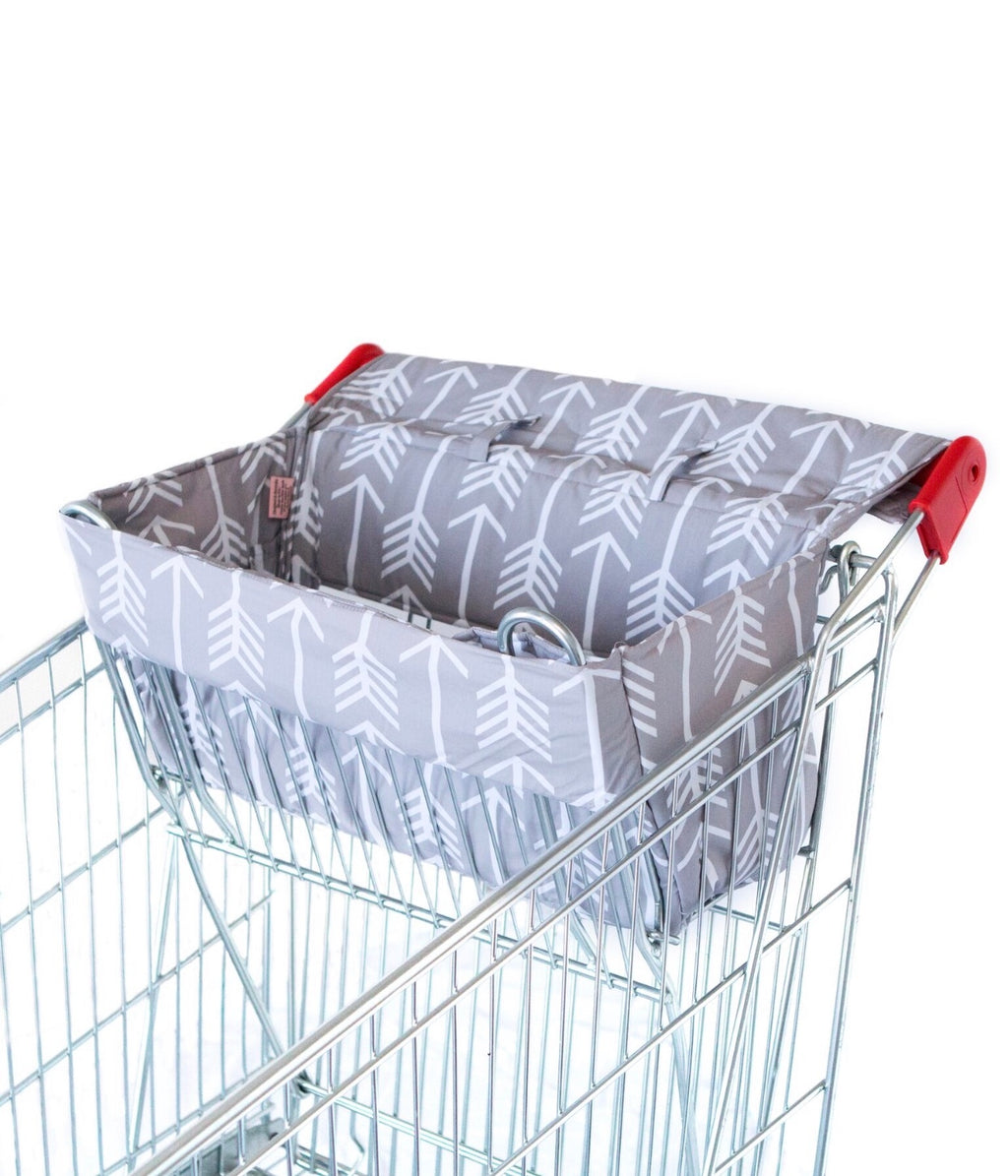 Bambella Designs - Trolley Liner - Arrows Grey