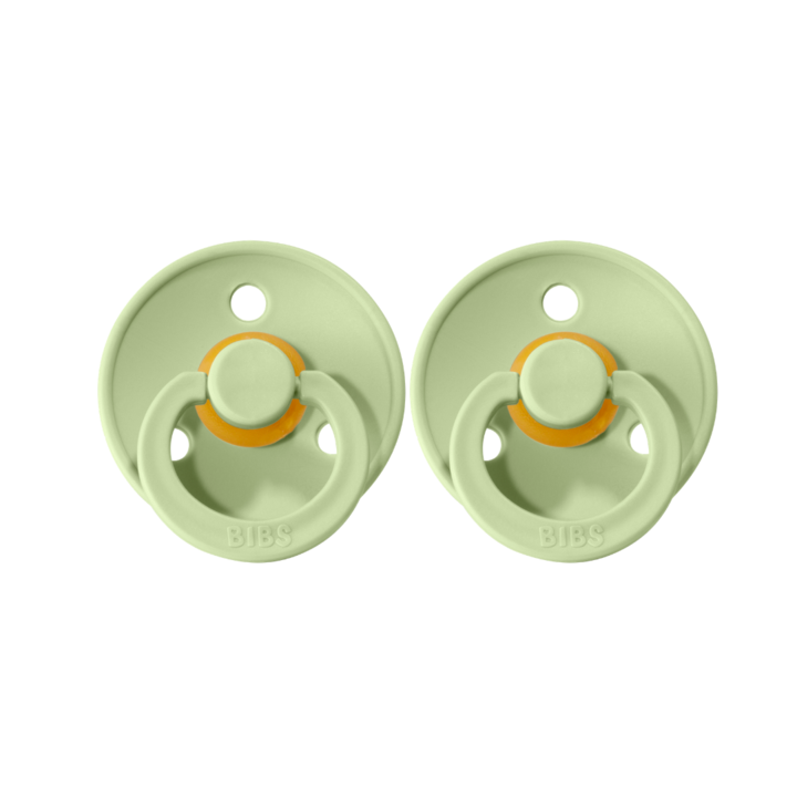 BIBS - BIBS Colour Double Pack - Size One | Pistachio