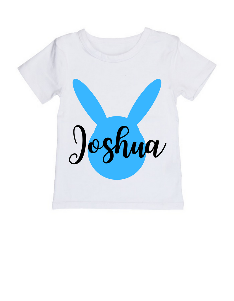 MLW By Design - Easter Personalised Tee | Blue