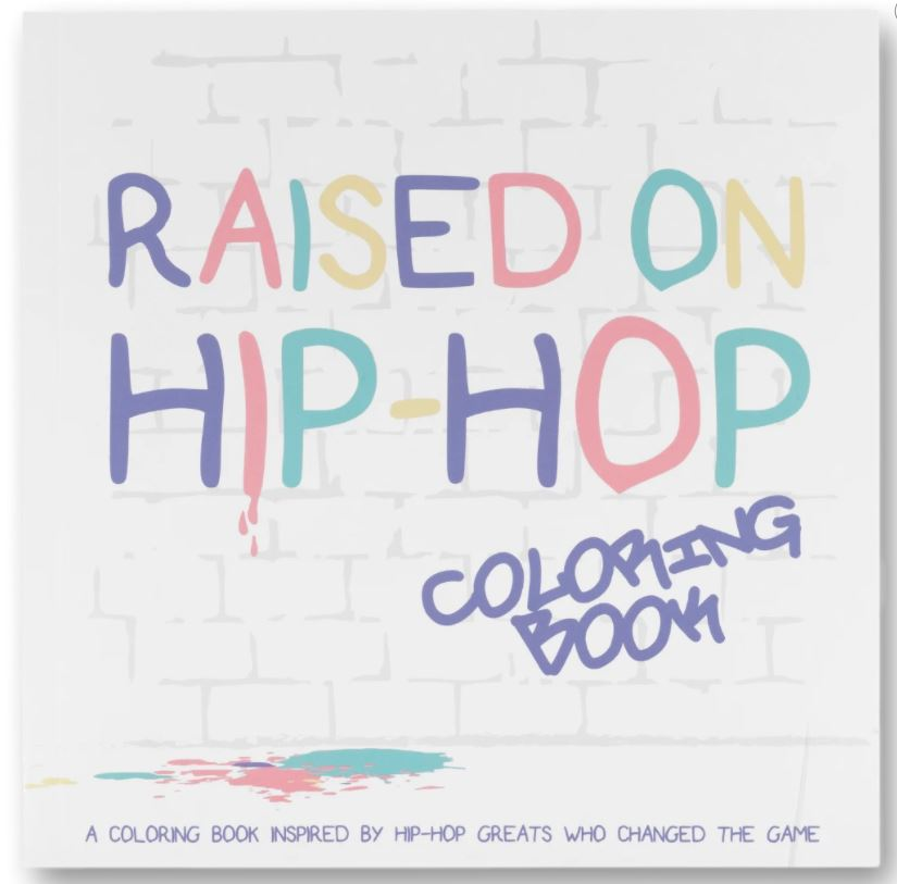 The Little Homie - Raised on Hip Hop Colouring Book