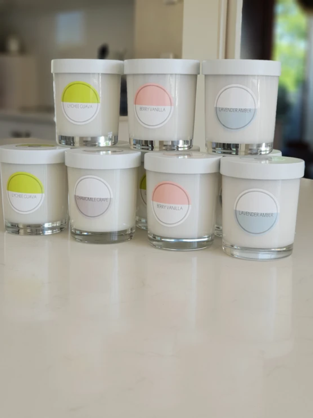 Elk Nursery - Coconut Soy Candle | Chamomile Grape