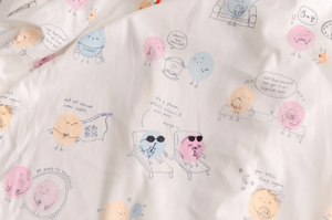 Anchor & Arrow - Josie Doodles Swaddle