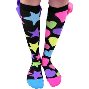Madmia - Glitter Socks with Bows