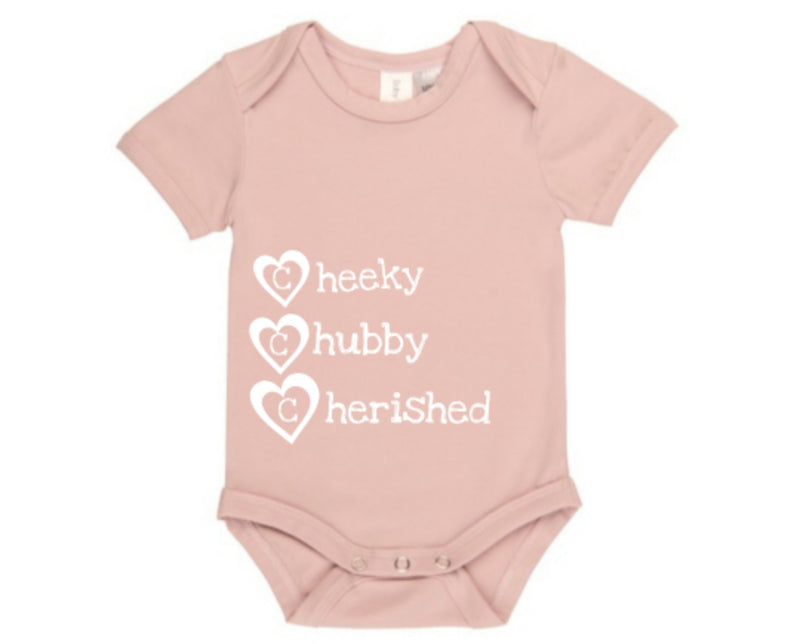 MLW By Design - Cheeky Chubby Cherished Bodysuit