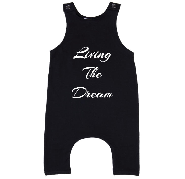 MLW By Design - Living The Dream Slouch Romper