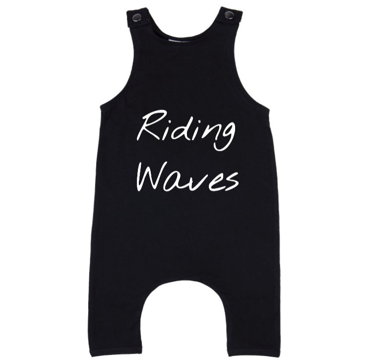 MLW By Design - Riding Waves Slouch Romper