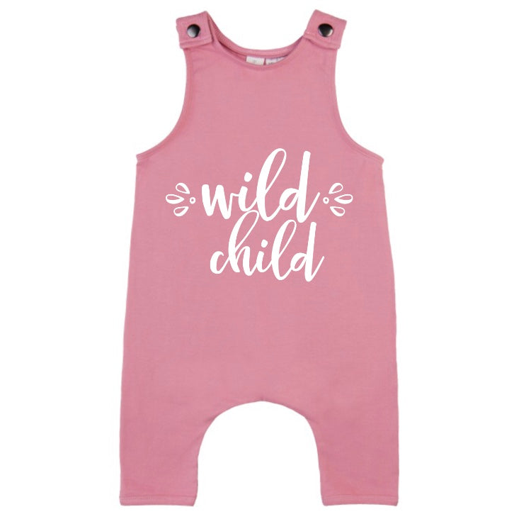 MLW By Design - Wild Child Slouch Romper | Pink