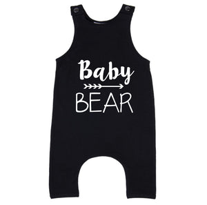 MLW By Design - Baby Bear Slouch Romper