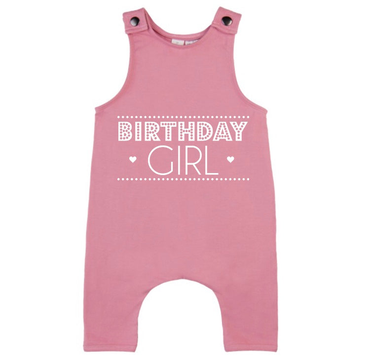 MLW By Design - Birthday Girl Slouch Romper