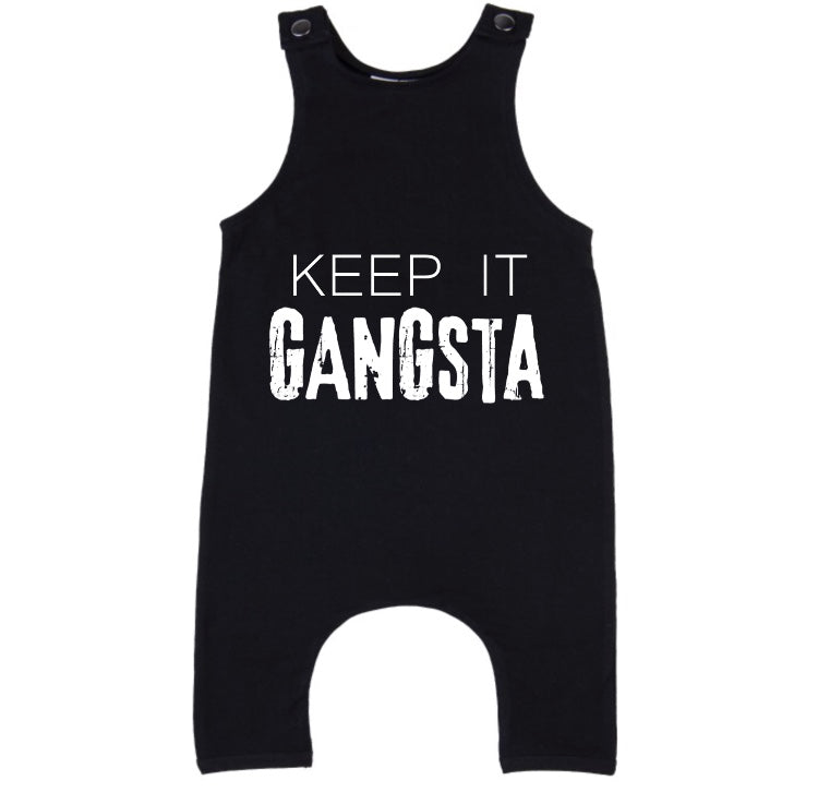 MLW By Design - Keep It Gangsta Slouch Romper