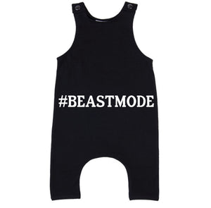 MLW By Design - #BEASTMODE Slouch Romper
