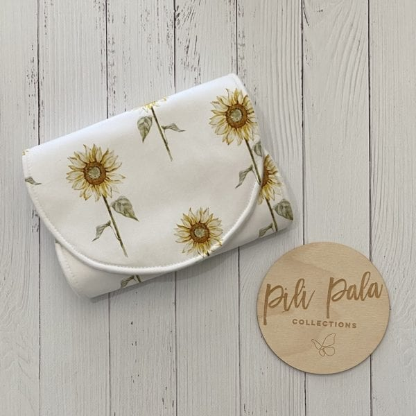 Pili Pala Collections - Sunny Large Contoured Burp Cloth