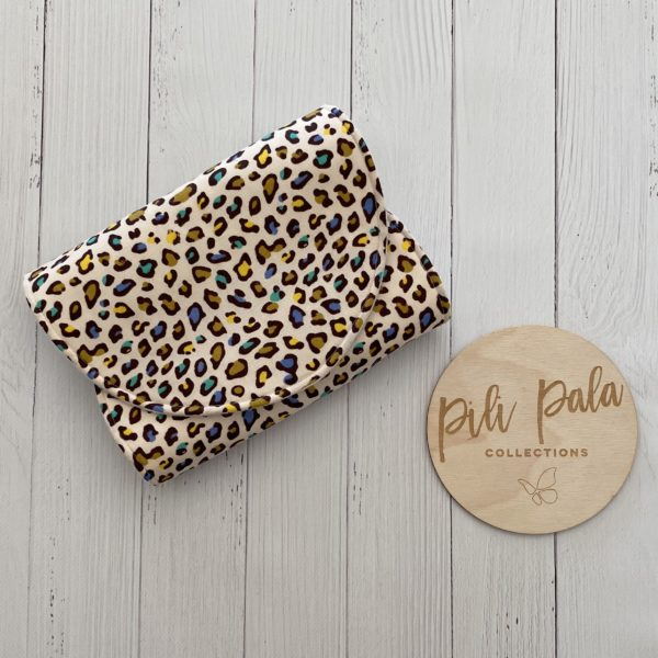 Pili Pala Collections - Animal Print Multi Contoured Burp Cloth