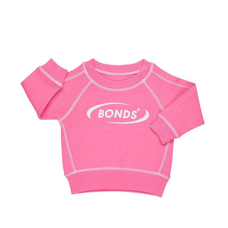 BONDS - Cool Sweats Pullover | Pink Kiss