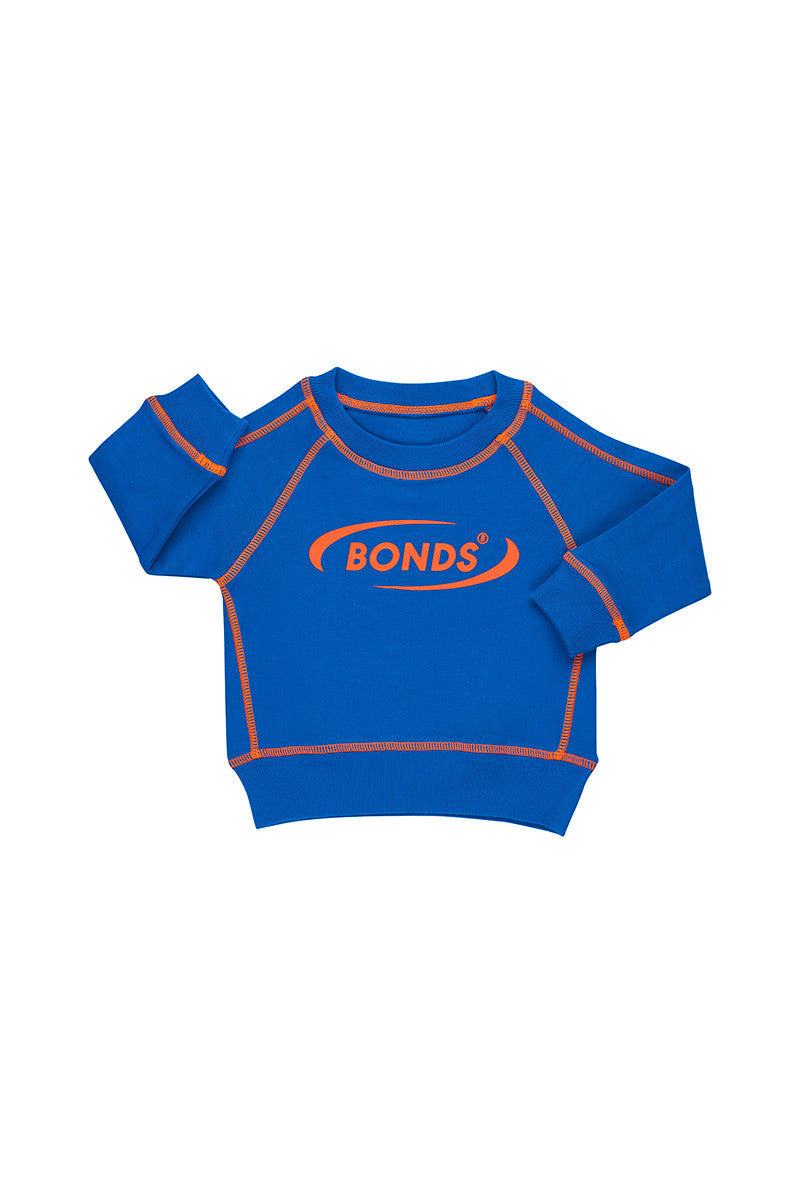 BONDS - Cool Sweats Pullover | Blue Tang
