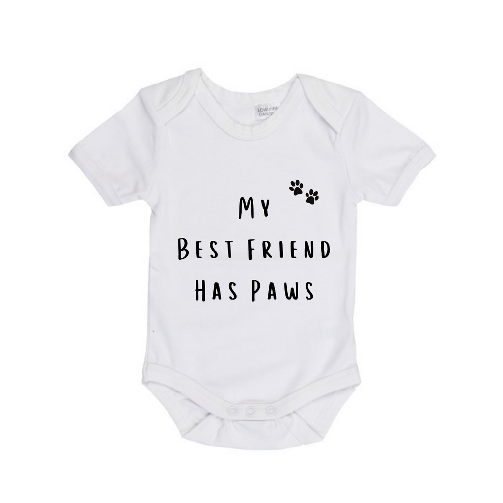 MLW By Design - Best Friend Has Paws Bodysuit | Black or White