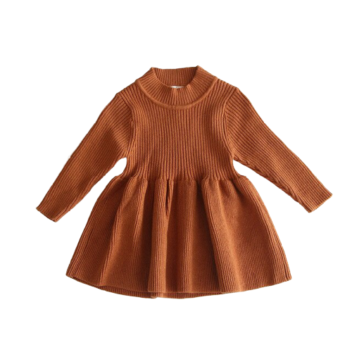 Poppy Winter Dress | Chestnut