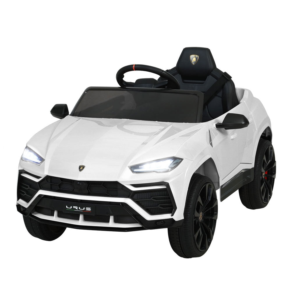 Licensed Lamborghini 12V Electric Car with Remote Control White