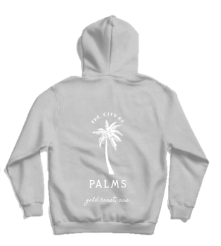 Byron Brooklyn Co - City of Palms Hoodie | Black or Grey