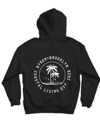Byron Brooklyn Co - Coastal Living Hoodie | Black or Grey