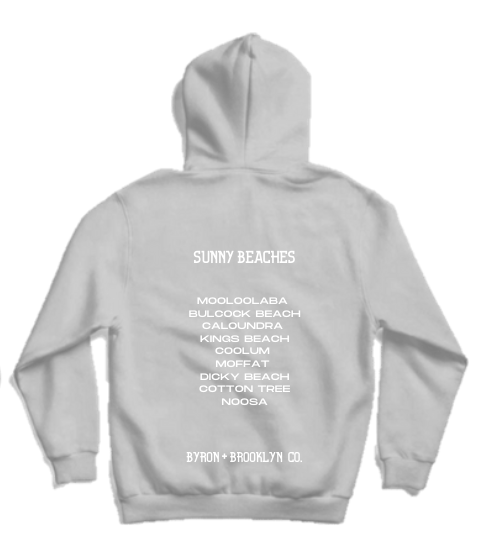 Byron Brooklyn Co - Sunny Beaches Hoodie | Black or Grey