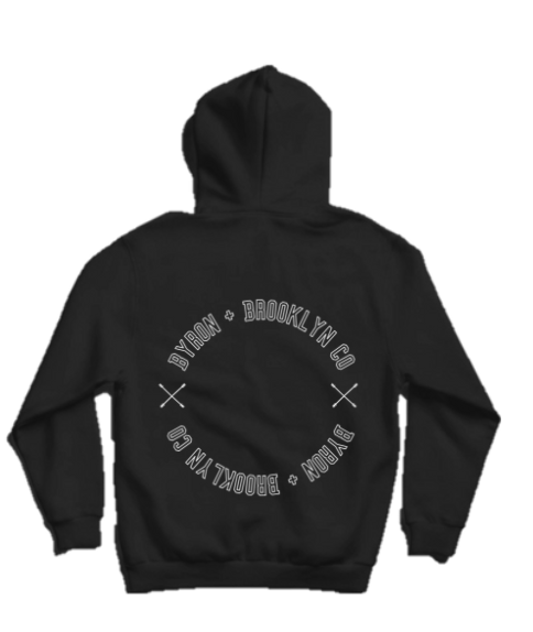 Byron Brooklyn Co - Byron Brooklyn Logo Hoodie | Black or Grey