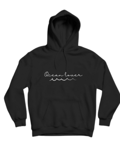 Byron Brooklyn Co - Ocean Lover Hoodie | Black or Grey
