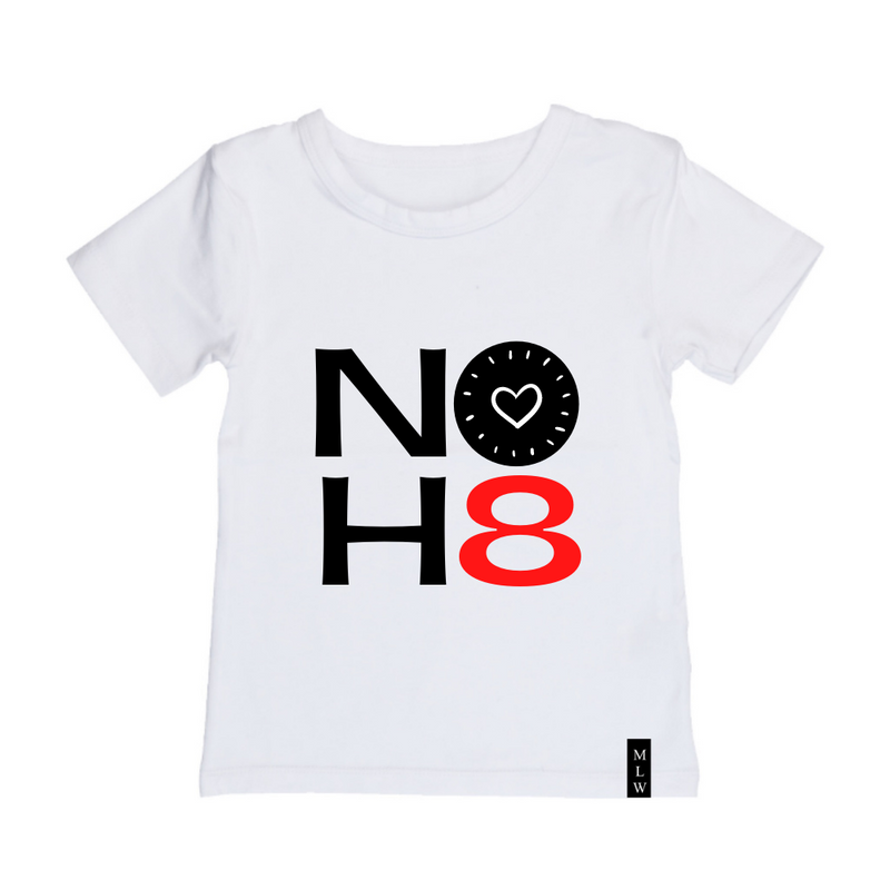 MLW By Design - No H8 Tee | Black or White