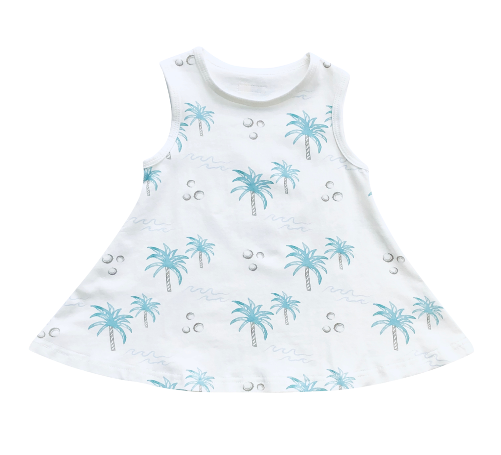 Indigo & Lellow - Coconut Swing Dress
