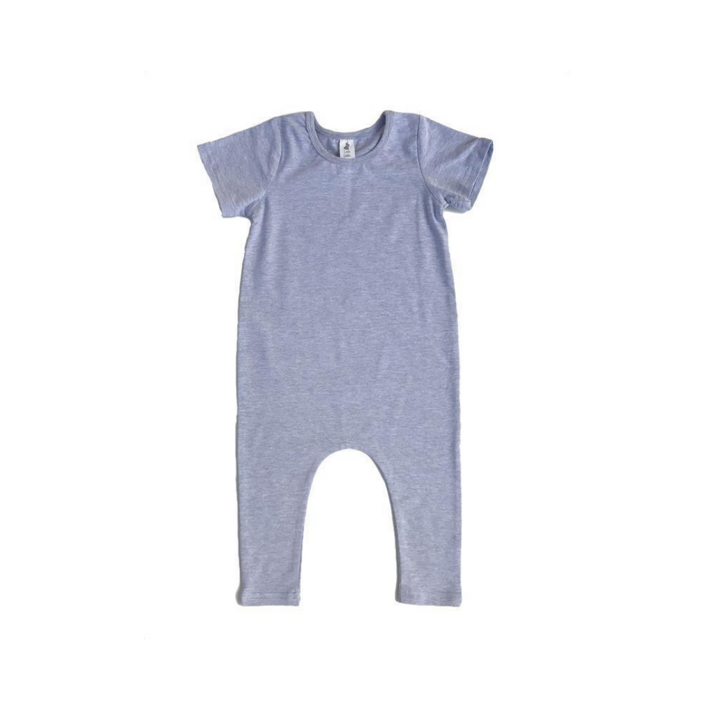 Little Wolfie - Wolfie Romper Grey