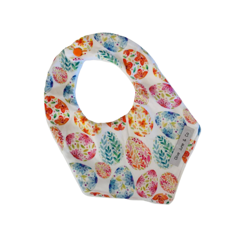 Olive June and Co - Handmade Bandana Bib | Easter Egg Treat