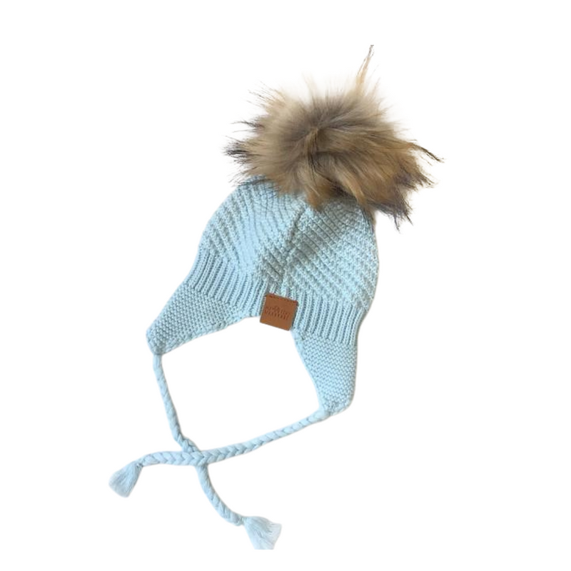 My Tiny Wardrobe - Knit Beanie | Baby Blue