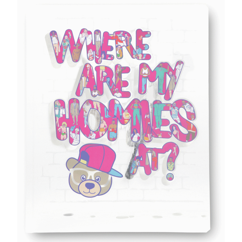 The Little Homie - Where are my homies at Book