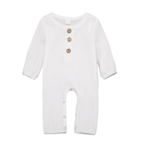 Atlas Onesie | White