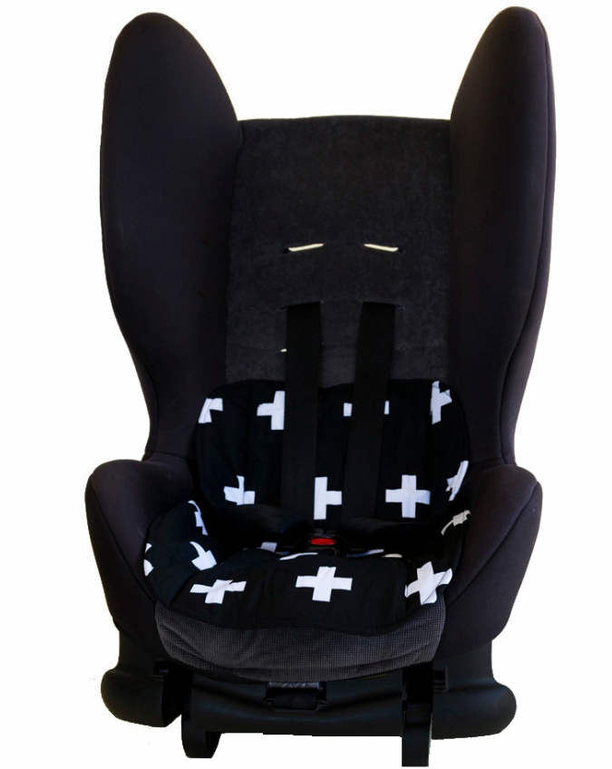 Bambella Designs - Car Seat Protector | Cross Black