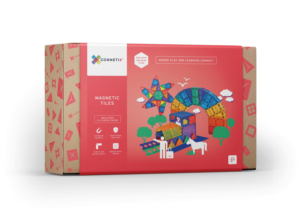Connetix Tiles - 212 Mega Pack