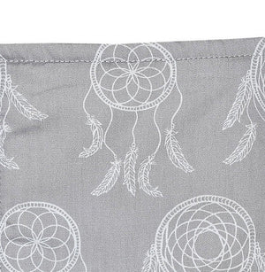 Bambella Designs - Change Table Mat Cover | Grey Dreamcatchers